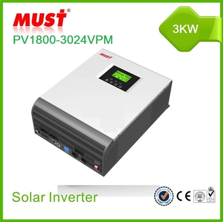 Must High Frequency Solar Inverter PV1800 VPM Series 3KW