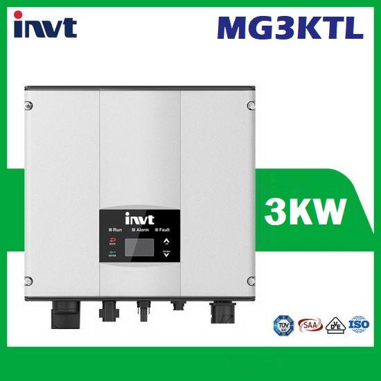INVT 3KW Single Phase Solar Inverter อินเวอร์เตอร์ และเครื่องชาร์จอ เนกประสงค์