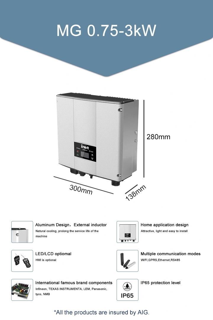 INVT 3KW Single Phase Solar Inverter อินเวอร์เตอร์ และเครื่องชาร์จอ เนกประสงค์ 1