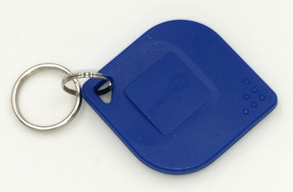 คีย์แท็กพวงกุญแจ ใบไม้ คลื่นความถี่ 125 K ยี่ห้อ mamgo 4
