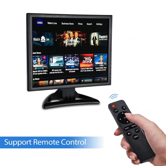 Eyoyo Monitor LED 17 Inch HD HDMI VGA AV BNC and Port USB