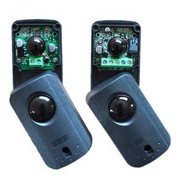 Photocell Infrared Detector RX 15mA TX 30mA Infrared  ใช้กับระบบไม้กั้นรถยนต์ 1
