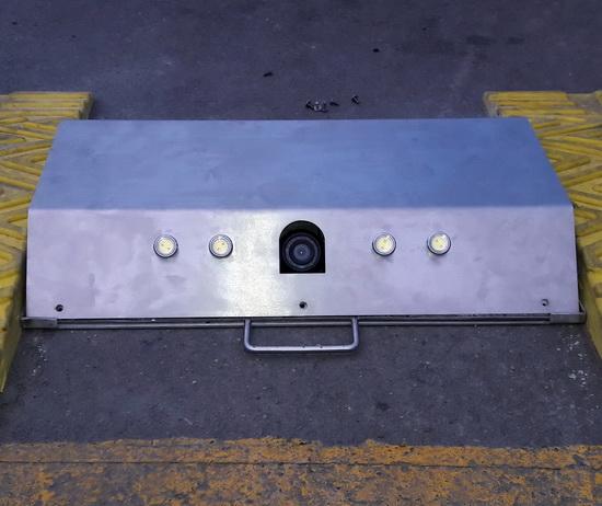 ชุดกล้องตรวจหาวัตถุต้องสงสัยใต้ท้องรถ 2