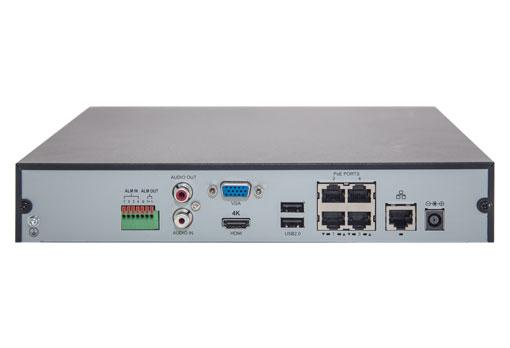 UNV Uniview NVR301-04-P4  4POE Port รับประกัน 2 ปี 1