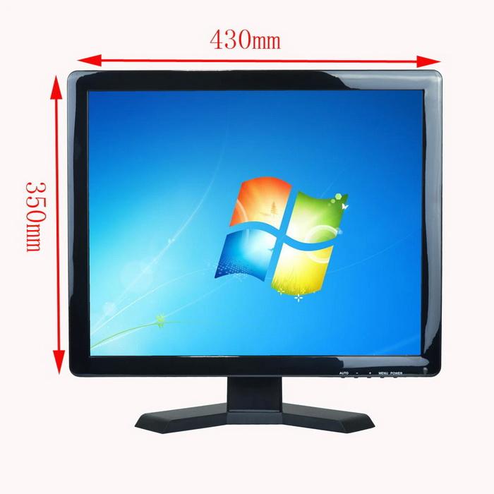 LCD Monitor 19 Inch AV Audio BNC VGA HDMI USB 1