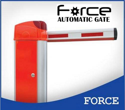 เครื่องกั้นรถ Gate Barrier New Force BR318 ปิดเปิดใช้เวลาเพียง 1.8 วินาที ฯลฯ