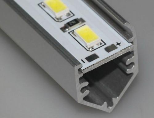 ไฟเส้นอลูมิเนียม แอลอีดี 5630  IP20 พร้อมรางอลูมิเนียม เมตรละ