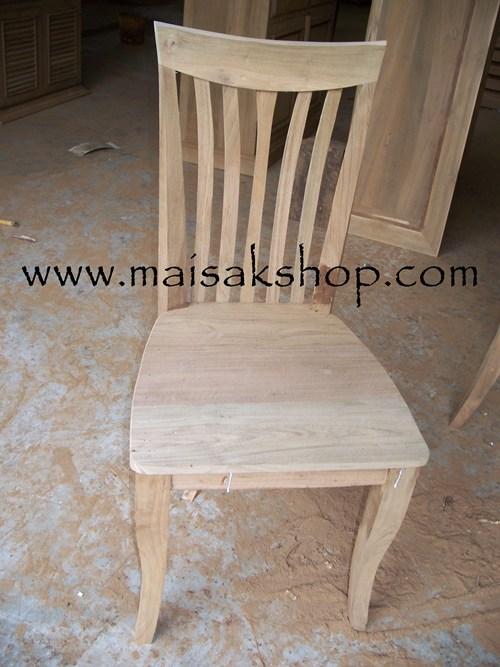 เฟอร์นิเจอร์ไม้สัก (Furniture)  เก้าอี้,เก้าอี้ไม้,เก้าอี้ไม้สัก แบบ เล่น มุมเว้า โค้ง