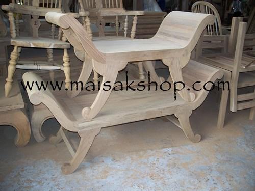 เฟอร์นิเจอร์ไม้สัก (Furniture) เก้าอี้,เก้าอี้ไม้,เก้าอี้ไม้สัก แบบแหย่งประยุกต์