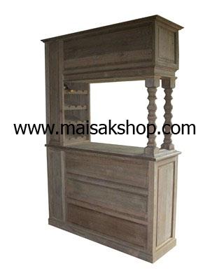 เฟอร์นิเจอร์ไม้สัก(Furniture) เคาว์เตอร์บาร์ไม้สัก