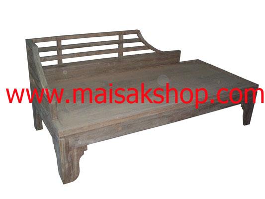 เฟอร์นิเจอร์ไม้สัก  (Furniture)เก้าอี้,เก้าอี้ไม้, เก้าอี้ไม้สัก,  เก้าอี้โซฟาไม้สักแบบาหลี่ 1