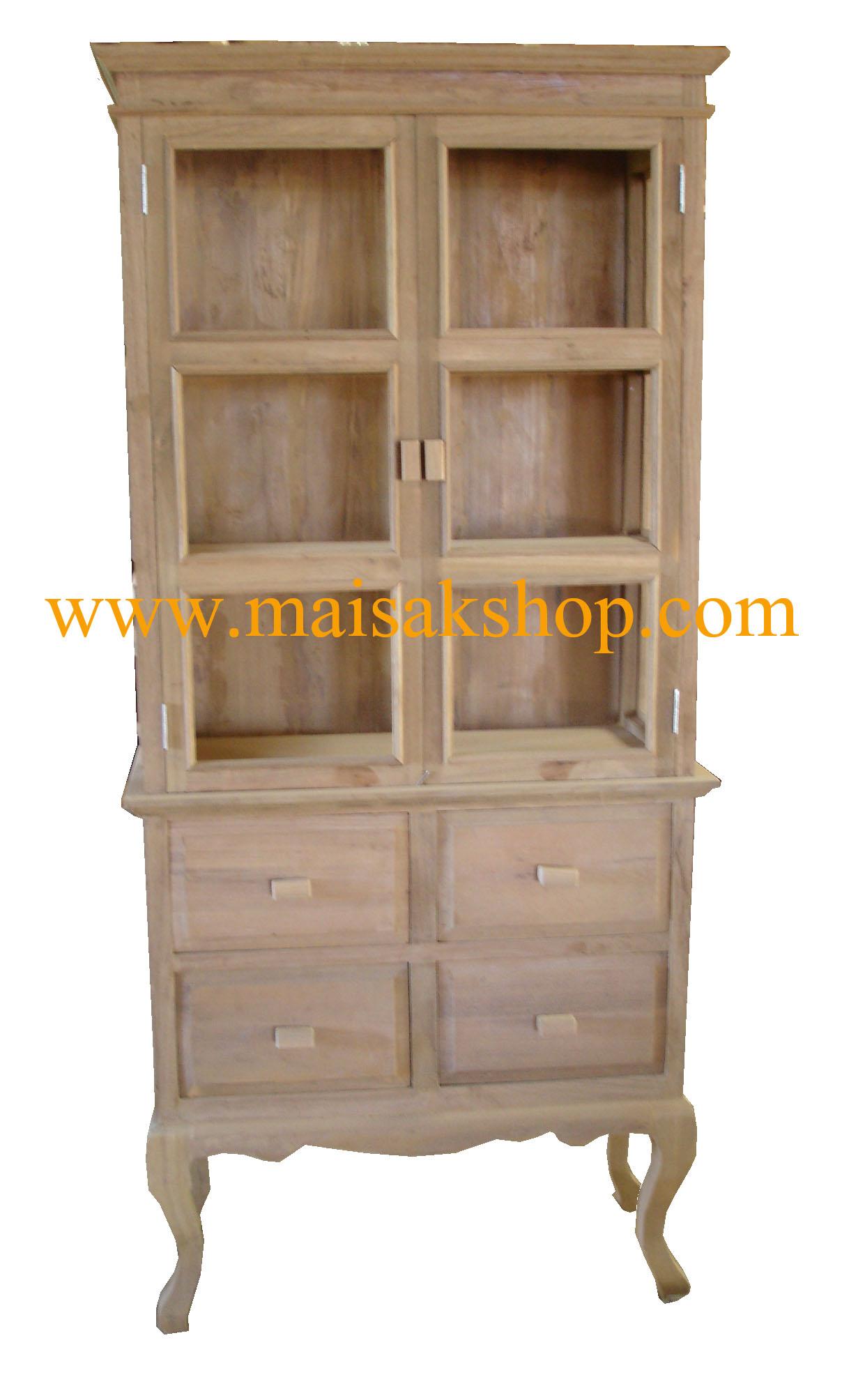 เฟอร์นิเจอร์ไม้สัก (furniture) ตู้,ตู้โชว์,ตู้โบราณ,ตู้โบราณไม้,ตู้โบราณไม้สัก