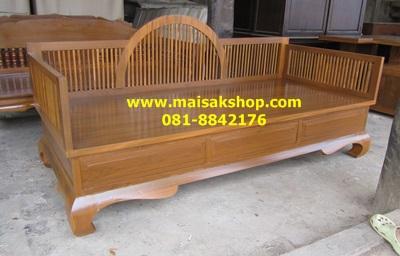 เฟอร์นิเจอร์ไม้สัก  (Furniture)  ชุดรับแขกไม้,แหย่งไม้สักประยุกต์