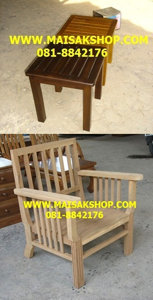 เฟอร์นิเจอร์ไม้สัก(Furniture) เก้าอี้สนาม ไม้สัก4