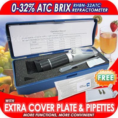 มิเตอร์วัดความหวาน น้ำตาล 0-32, 0-80, 58-90 Brix /เครื่องวัดความเค็ม 0-28 / เครื่องวัดแอลกอฮอล์ 0-80