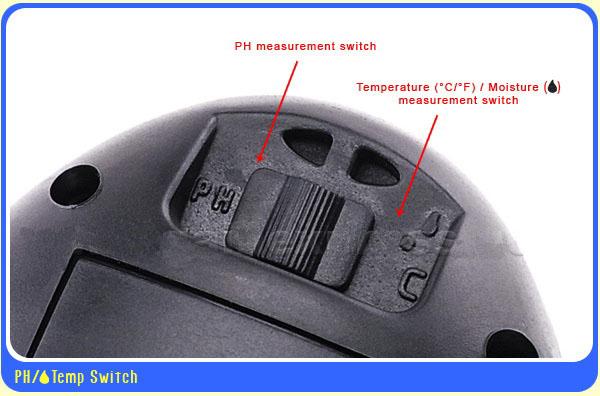 เครื่องวัดดิน ระบบดิจิตอล 4in1 - วัดค่า pH ดิน, วัดความชื้นดิน, วัดอุณหภูมิดิน และค่าแสง รุ่น DSM-90 3