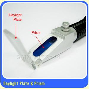 มิเตอร์วัดความหวาน น้ำตาล 0-32, 0-80, 58-90 Brix /เครื่องวัดความเค็ม 0-28 / เครื่องวัดแอลกอฮอล์ 0-80 3