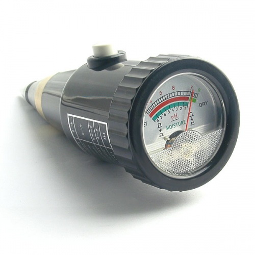 มิเตอร์วัดความชื้น และค่า pH ในดิน รุ่น ZD-05 5
