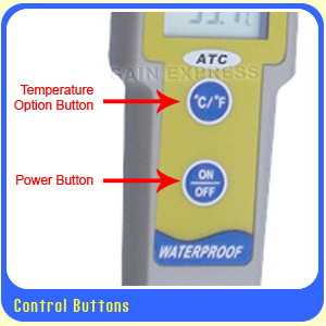มิเตอร์วัดค่ากรด-ด่าง(pH), อุณหภูมิ เปลี่ยนหัวอ่านได้ + ฟรี! buffer 3 ค่า สำหรับปลูกผักไฮโดรโปนิกส์ 2