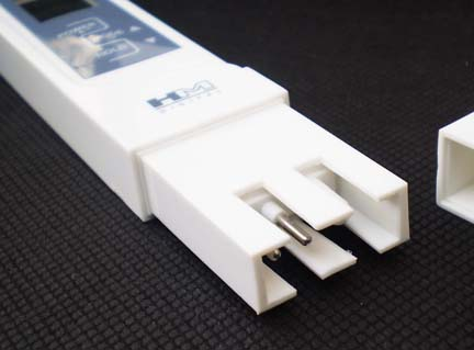 มิเตอร์วัดปุ๋ยAB และอุณหภูมิ สำหรับปลูกผักไฮโดรโปนิกส์ ฟรี! น้ำยาสอบเทียบค่า 1.41 mS มูลค่า 200.- 3
