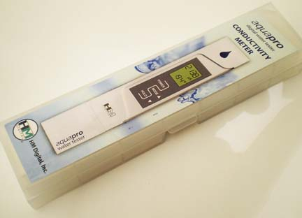 มิเตอร์วัดปุ๋ยAB และอุณหภูมิ สำหรับปลูกผักไฮโดรโปนิกส์ ฟรี! น้ำยาสอบเทียบค่า 1.41 mS มูลค่า 200.- 5