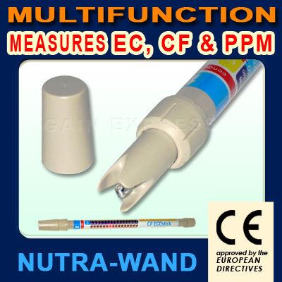 เครื่องวัด EC (น้ำยา A+B) ใช้ปลูกผักไฮโดรโพนิคส์ รุ่น ECS-23852 ทรงคทา ใช้งานง่าย