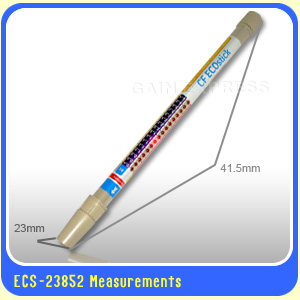 เครื่องวัด EC (น้ำยา A+B) ใช้ปลูกผักไฮโดรโพนิคส์ รุ่น ECS-23852 ทรงคทา ใช้งานง่าย 2