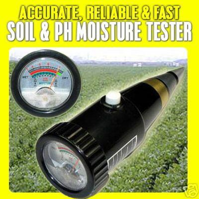 มิเตอร์วัดความชื้น และค่า pH ในดิน รุ่น ZD-05