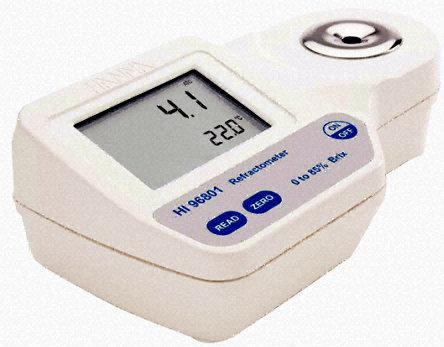เครื่องวัดความหวาน น้ำตาล บริกซ์ (Brix) ในน้ำผลไม้ เครื่องดื่ม ไอศกรีม ซอส แยมผลไม้ ช่วงค่า 0-85Brix