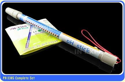 มิเตอร์วัดกรดด่าง สำหรับปลูกผักไฮโดรโปนิกส์ ทรงคทา รุ่น PHS-3385 ช่วงค่า 2.1-10.8 1