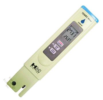 เครื่องวัด EC, TDS, อุณหภูมิ ใช้ปลูกผักไฮโดรโปนิกส์ รุ่น HM-3in1