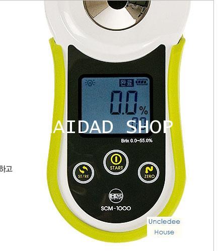 เครื่องวัดความหวาน ระบบดิจิตอล HM รุ่น SCM-1000 ช่วงการวัด 0.0-55.0 Brix 2
