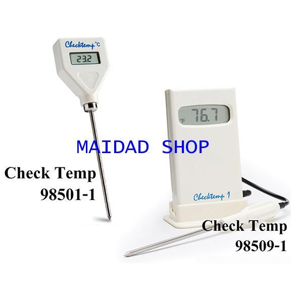 Hanna เครื่องวัดอุณหภูมิ ระบบดิจิตอล รุ่น Check Temp 98501 และ 98509 ช่วงค่า -50 ถึง 150 ํC