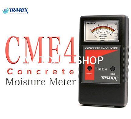 เครื่องวัดความชื้น พื้น ผนัง คอนกรีต TRAMEX รุ่น CME4 (Concrete Moisture Meter) ช่วงค่า 2-6 Percent