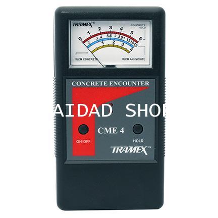เครื่องวัดความชื้น พื้น ผนัง คอนกรีต TRAMEX รุ่น CME4 (Concrete Moisture Meter) ช่วงค่า 2-6 Percent 1