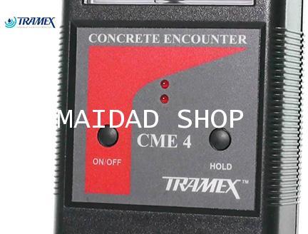 เครื่องวัดความชื้น พื้น ผนัง คอนกรีต TRAMEX รุ่น CME4 (Concrete Moisture Meter) ช่วงค่า 2-6 Percent 3
