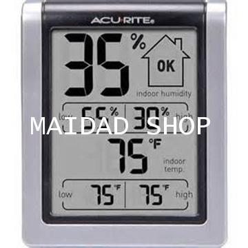 เครื่องวัดความชื้น และอุณหภูมิ (Hygrometer) ใช้ในโรงเพาะเห็ด โรงเรือน โกดัง ไซโล ยี่ห้อ AcuRite USA 2