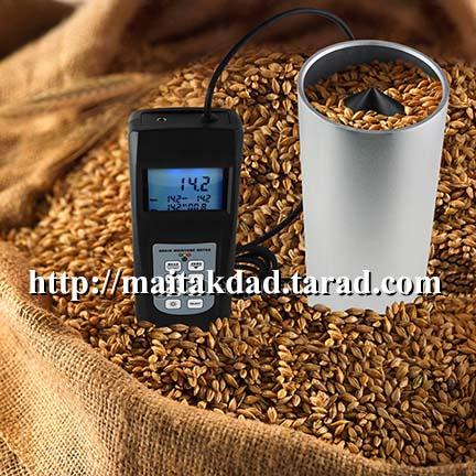 เครื่องวัดความชื้น ข้าวโพด ข้าวเปลือก กาแฟ ถั่วเหลือง โกโก้ งาดำ อาหารสัตว์ อาหารเม็ด รุ่น MC-7828GG
