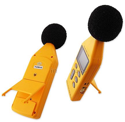 เครื่องวัด และบันทึกระดับเสียง ความดังเสียง ช่วง 40-130 เดซิเบล (dB) 3