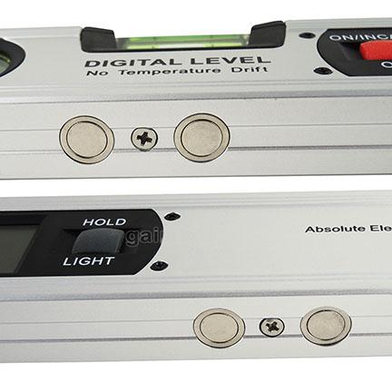 เครื่องวัดองศา วัดมุมเอียง วัดระดับความลาดเอียง โปรเทคเตอร์ ระบบดิจิตอล (Level Inclinometer 4 x 90) 2