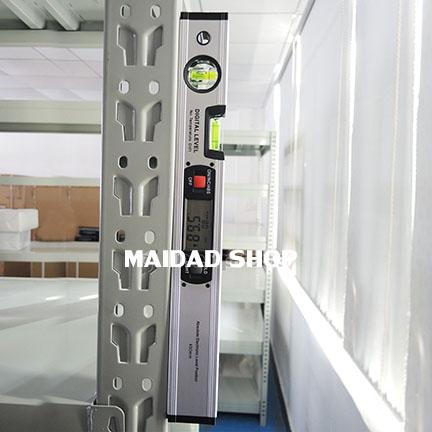 เครื่องวัดองศา วัดมุมเอียง วัดระดับความลาดเอียง โปรเทคเตอร์ ระบบดิจิตอล (Level Inclinometer 4 x 90) 4
