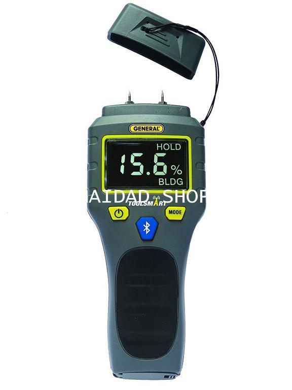 เครื่องวัดความชื้นผนัง พื้น คอนกรีต ไม้ รุ่น TS06 มีระบบ BlueTooth เชื่อมต่อไปยังสมาร์ทโฟนได้