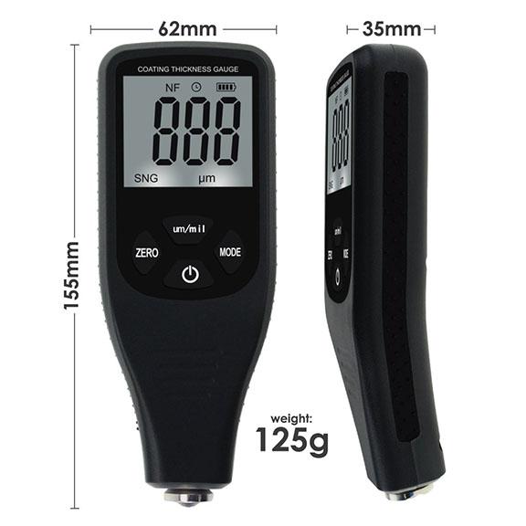เครื่องวัดความหนาสี (Paint Coating Thickness Meter) ช่วงค่าการวัด 0~1500 um รุ่น CTM 2
