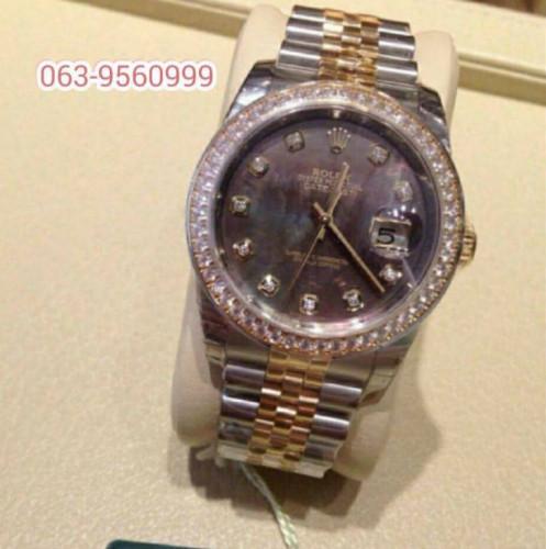 ขายนาฬิกา Rolex Datejust Black Pearl หน้ามุกดำ Original ของใหม่ รุ่นใหม่