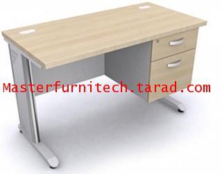 โต๊ะทำงานขาเหล็ก 2 ลิ้นชักขวา-ซ้าย (SS1-1002S-SS1-2002)