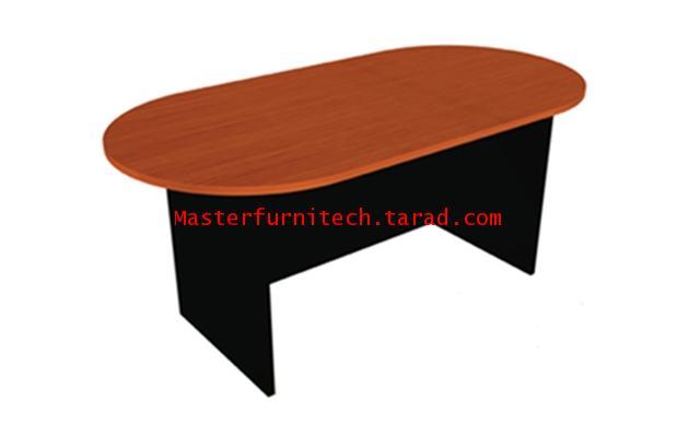 โต๊ะประชุมรูปวงรี ขาไม้ รุ่น ST-180C