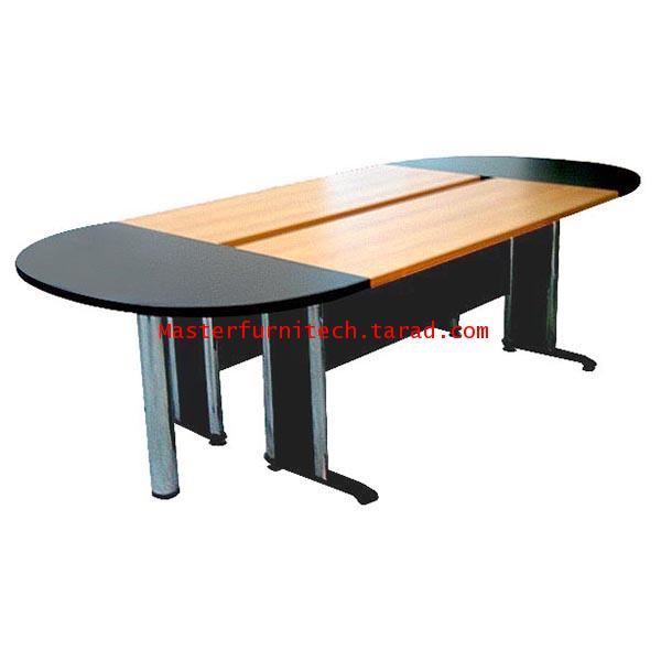 โต๊ะประชุมขาเหล็ก รูปวงรี 4 ชิ้น รุ่น DL3-1,DL3-2