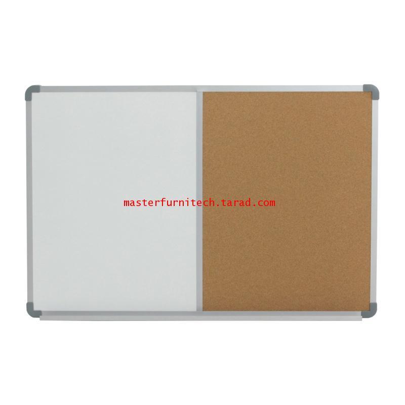 กระดานผสมไวท์บอร์ดธรรมดา+ไม้ก๊อก WBC-90120