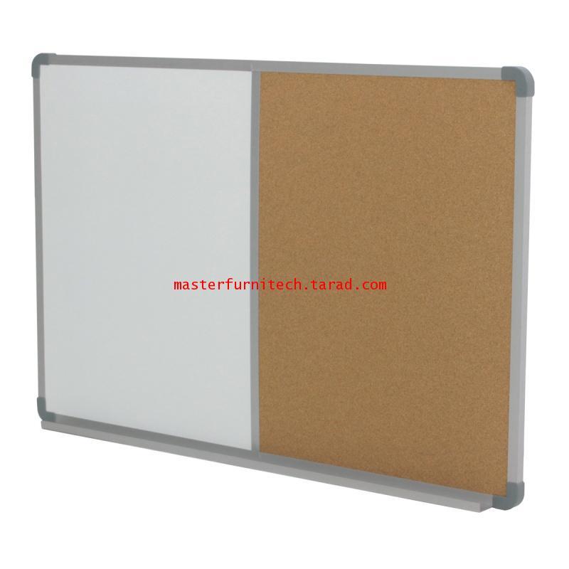 กระดานผสมไวท์บอร์ดธรรมดา+ไม้ก๊อก WBC-90120 1