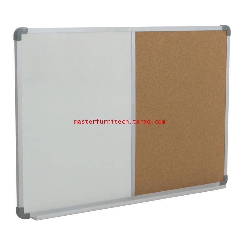 กระดานผสมไวท์บอร์ดธรรมดา+ไม้ก๊อก WBC-90120 2